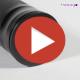 Hesago XMatic - Bastone telescopico con meccanismo di chiusura a pulsante - Professionale